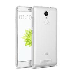 Xiaomi Redmi Note 3 MediaTek用極薄ソフトケース シリコンケース 耐衝撃 全面保護 クリア透明 Xiaomi クリア