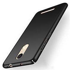 Xiaomi Redmi Note 3 MediaTek用ハードケース プラスチック 質感もマット M01 Xiaomi ブラック