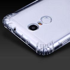 Xiaomi Redmi Note 3 MediaTek用極薄ソフトケース シリコンケース 耐衝撃 全面保護 クリア透明 T07 Xiaomi クリア