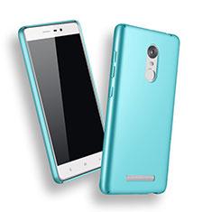 Xiaomi Redmi Note 3 MediaTek用ハードケース プラスチック 質感もマット Xiaomi ブルー