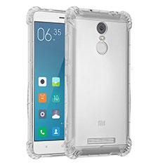 Xiaomi Redmi Note 3 MediaTek用極薄ソフトケース シリコンケース 耐衝撃 全面保護 クリア透明 H01 Xiaomi クリア