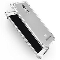 Xiaomi Redmi Note 3 MediaTek用極薄ソフトケース シリコンケース 耐衝撃 全面保護 クリア透明 T12 Xiaomi クリア