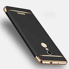 Xiaomi Redmi Note 3 MediaTek用ケース 高級感 手触り良い メタル兼プラスチック バンパー Xiaomi ブラック