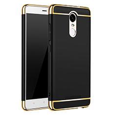 Xiaomi Redmi Note 3 Pro用ケース 高級感 手触り良い メタル兼プラスチック バンパー M01 Xiaomi ブラック