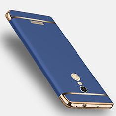 Xiaomi Redmi Note 3 Pro用ケース 高級感 手触り良い メタル兼プラスチック バンパー Xiaomi ネイビー