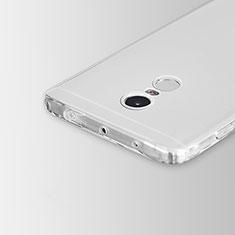 Xiaomi Redmi Note 4用極薄ソフトケース シリコンケース 耐衝撃 全面保護 クリア透明 カバー Xiaomi クリア