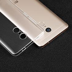 Xiaomi Redmi Note 4用極薄ソフトケース シリコンケース 耐衝撃 全面保護 クリア透明 T02 Xiaomi クリア