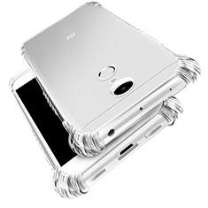 Xiaomi Redmi Note 4用極薄ソフトケース シリコンケース 耐衝撃 全面保護 クリア透明 T03 Xiaomi クリア