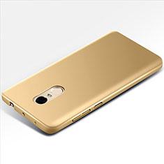 Xiaomi Redmi Note 4用ハードケース プラスチック 質感もマット M01 Xiaomi ゴールド
