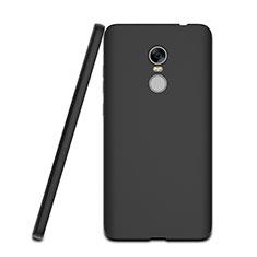 Xiaomi Redmi Note 4用シリコンケース ソフトタッチラバー Xiaomi ブラック