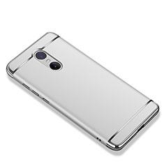 Xiaomi Redmi Note 4用ケース 高級感 手触り良い メタル兼プラスチック バンパー M01 Xiaomi シルバー