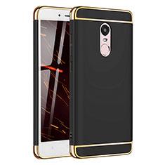 Xiaomi Redmi Note 4用ケース 高級感 手触り良い メタル兼プラスチック バンパー M02 Xiaomi ブラック