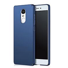 Xiaomi Redmi Note 4 Standard Edition用ハードケース プラスチック 質感もマット Q03 Xiaomi ネイビー
