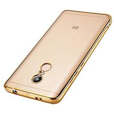 Xiaomi Redmi Note 4 Standard Edition用バンパーケース クリア透明 Xiaomi ゴールド