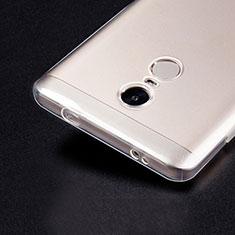 Xiaomi Redmi Note 4 Standard Edition用極薄ソフトケース シリコンケース 耐衝撃 全面保護 クリア透明 T02 Xiaomi クリア