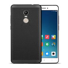 Xiaomi Redmi Note 4 Standard Edition用ハードケース プラスチック メッシュ デザイン W01 Xiaomi ブラック