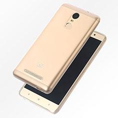 Xiaomi Redmi Note 4 Standard Edition用極薄ソフトケース シリコンケース 耐衝撃 全面保護 クリア透明 T07 Xiaomi クリア