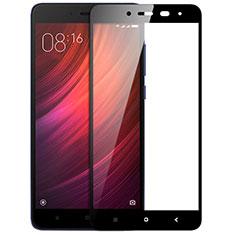 Xiaomi Redmi Note 4 Standard Edition用強化ガラス フル液晶保護フィルム F05 Xiaomi ブラック
