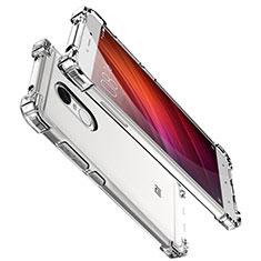 Xiaomi Redmi Note 4X用極薄ソフトケース シリコンケース 耐衝撃 全面保護 クリア透明 H01 Xiaomi クリア