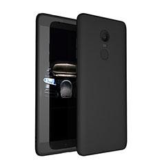 Xiaomi Redmi Note 4X用極薄ソフトケース シリコンケース 耐衝撃 全面保護 Xiaomi ブラック