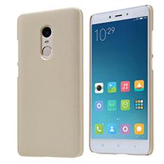 Xiaomi Redmi Note 4X High Edition用ハードケース プラスチック メッシュ デザイン Xiaomi ゴールド