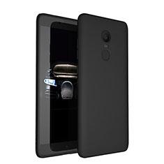 Xiaomi Redmi Note 4X High Edition用極薄ソフトケース シリコンケース 耐衝撃 全面保護 S03 Xiaomi ブラック