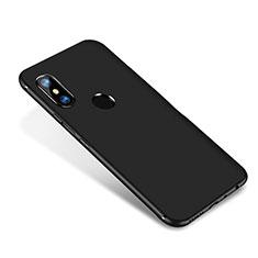 Xiaomi Redmi Note 5 AI Dual Camera用極薄ソフトケース シリコンケース 耐衝撃 全面保護 S02 Xiaomi ブラック