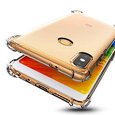 Xiaomi Redmi Note 5用極薄ソフトケース シリコンケース 耐衝撃 全面保護 クリア透明 H01 Xiaomi クリア