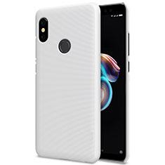 Xiaomi Redmi Note 5用ハードケース プラスチック メッシュ デザイン Xiaomi ホワイト
