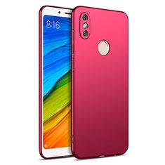 Xiaomi Redmi Note 5用ハードケース プラスチック 質感もマット Xiaomi レッド