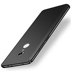 Xiaomi Redmi Note 5 Indian Version用ハードケース プラスチック 質感もマット M01 Xiaomi ブラック