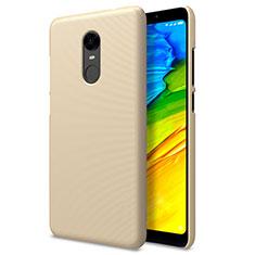 Xiaomi Redmi Note 5 Indian Version用ハードケース プラスチック メッシュ デザイン Xiaomi ゴールド