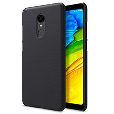 Xiaomi Redmi Note 5 Indian Version用ハードケース プラスチック メッシュ デザイン Xiaomi ブラック