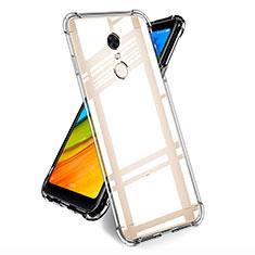 Xiaomi Redmi Note 5 Indian Version用極薄ソフトケース シリコンケース 耐衝撃 全面保護 クリア透明 T05 Xiaomi クリア