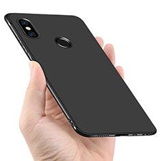 Xiaomi Redmi Note 5 Pro用極薄ソフトケース シリコンケース 耐衝撃 全面保護 Xiaomi ブラック