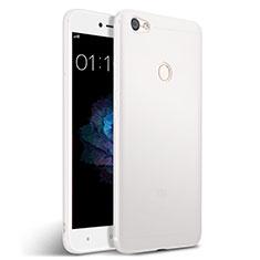 Xiaomi Redmi Note 5A High Edition用シリコンケース ソフトタッチラバー Xiaomi ホワイト