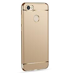 Xiaomi Redmi Note 5A High Edition用ケース 高級感 手触り良い メタル兼プラスチック バンパー Xiaomi ゴールド