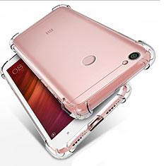 Xiaomi Redmi Note 5A Prime用極薄ソフトケース シリコンケース 耐衝撃 全面保護 クリア透明 T03 Xiaomi クリア