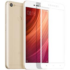 Xiaomi Redmi Note 5A Pro用強化ガラス フル液晶保護フィルム Xiaomi ホワイト