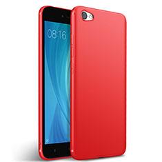 Xiaomi Redmi Note 5A Standard Edition用シリコンケース ソフトタッチラバー Xiaomi レッド