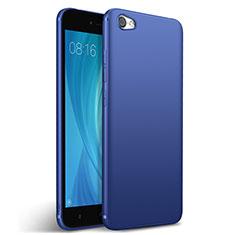 Xiaomi Redmi Note 5A Standard Edition用シリコンケース ソフトタッチラバー Xiaomi ネイビー