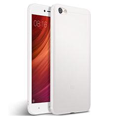 Xiaomi Redmi Note 5A Standard Edition用シリコンケース ソフトタッチラバー Xiaomi ホワイト
