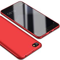 Xiaomi Redmi Note 5A Standard Edition用極薄ソフトケース シリコンケース 耐衝撃 全面保護 S01 Xiaomi レッド