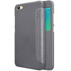 Xiaomi Redmi Note 5A Standard Edition用手帳型 レザーケース スタンド Xiaomi ブラック