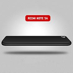 Xiaomi Redmi Note 5A Standard Edition用ハードケース プラスチック 質感もマット 前面と背面 360度 フルカバー Xiaomi ブラック