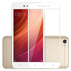 Xiaomi Redmi Note 5A Standard Edition用強化ガラス フル液晶保護フィルム Xiaomi ホワイト