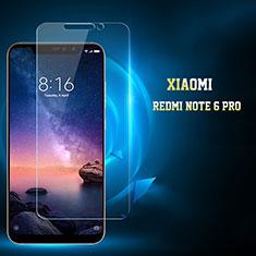 Xiaomi Redmi Note 6 Pro用強化ガラス 液晶保護フィルム Xiaomi クリア