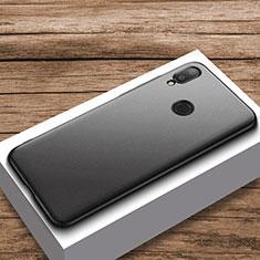 Xiaomi Redmi Note 7用ハードケース プラスチック 質感もマット M01 Xiaomi ブラック
