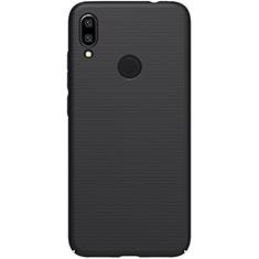 Xiaomi Redmi Note 7用ハードケース プラスチック 質感もマット M04 Xiaomi ブラック