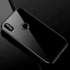 Xiaomi Redmi Note 7用極薄ソフトケース シリコンケース 耐衝撃 全面保護 クリア透明 H04 Xiaomi ブラック